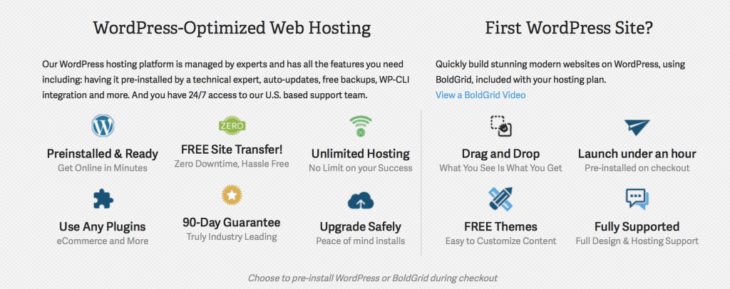 Recommended WordPress Self Hosted Service