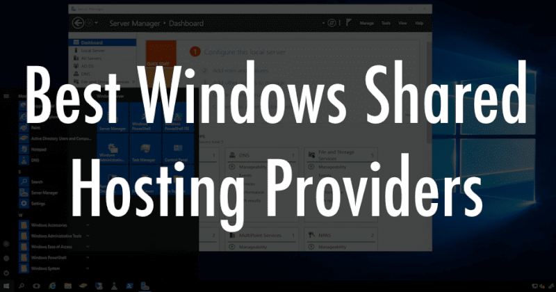 Windows Shared Hosting Services