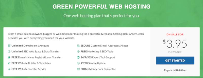 Environmentally Friendly Web Hosting