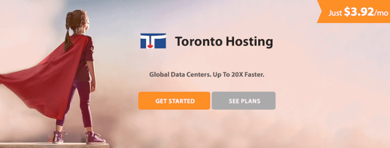 Toronto Hosting company