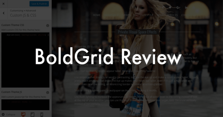 BoldGrid Review