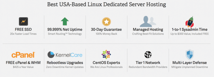 Reliable dedicated servers in USA