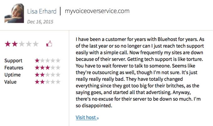 Blushost Reviews