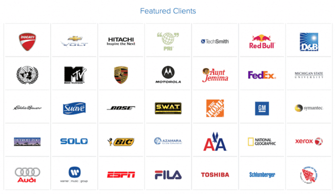 Featured managed dedicated hosting clients